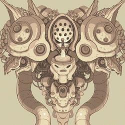 Mammon Machine by Nerd-Scribbles
