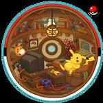 Cozy Pokeball Interior
