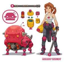 RQ Dog bot by Nerd-Scribbles