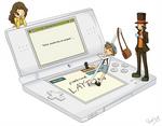 The professor Layton on DS