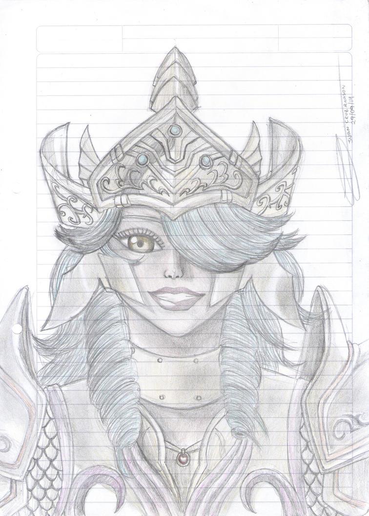 Aphrodite Smiles by Juan-Cruz