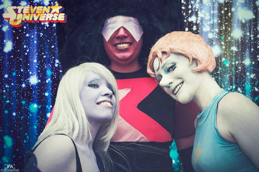 We... ARE THE CRYSTAL GEMS!