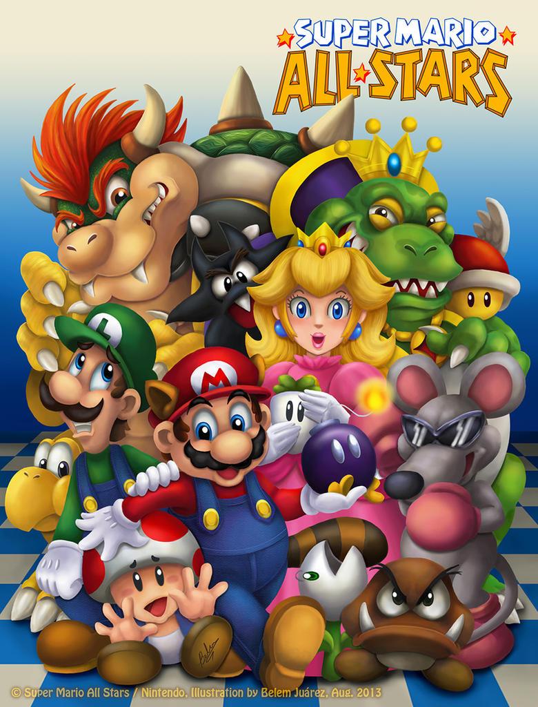 Super Mario All Stars by Mavrika