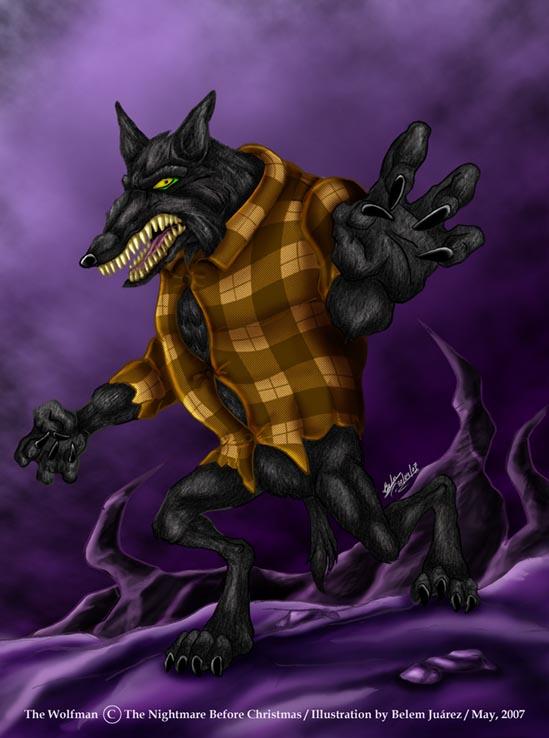 The Wolfman by Mavrika on DeviantArt