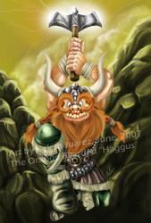 The Orange Bearded 'Haggus' by Mavrika
