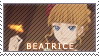 Beatrice Stamp by LG-Kitty