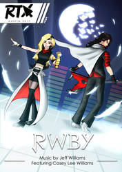 RWBY Jeff and Casey Williams by fkim90