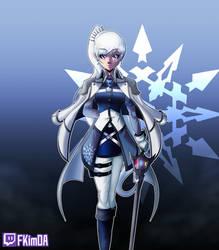 The Legendary Huntress Weiss Schnee by fkim90