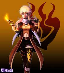 The Legendary Huntress Yang Xiao Long by fkim90