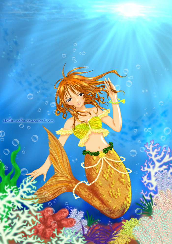 Under the Sea Colored by stellar-neko