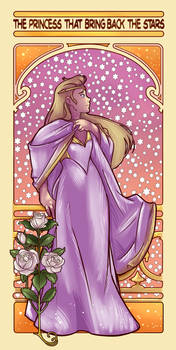 The Princess that bring back the stars