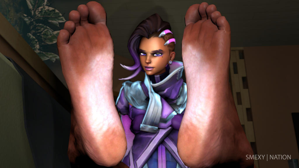 Sombra's Dirty feet by Smexy-Nation on DeviantArt