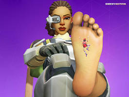 Fortnite - Steelsight Barefoot Crush by Smexy-Nation