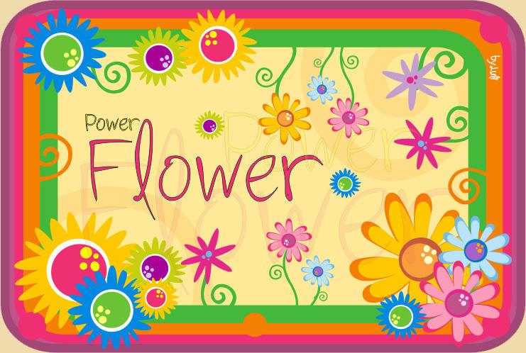Power Flower by lovelybutterfly
