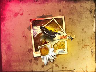 broken Wing by lovelybutterfly
