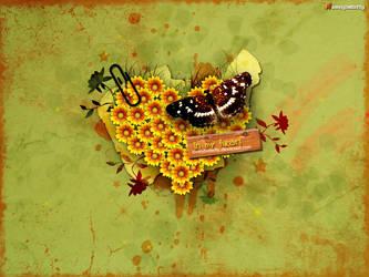 In my Heart by lovelybutterfly