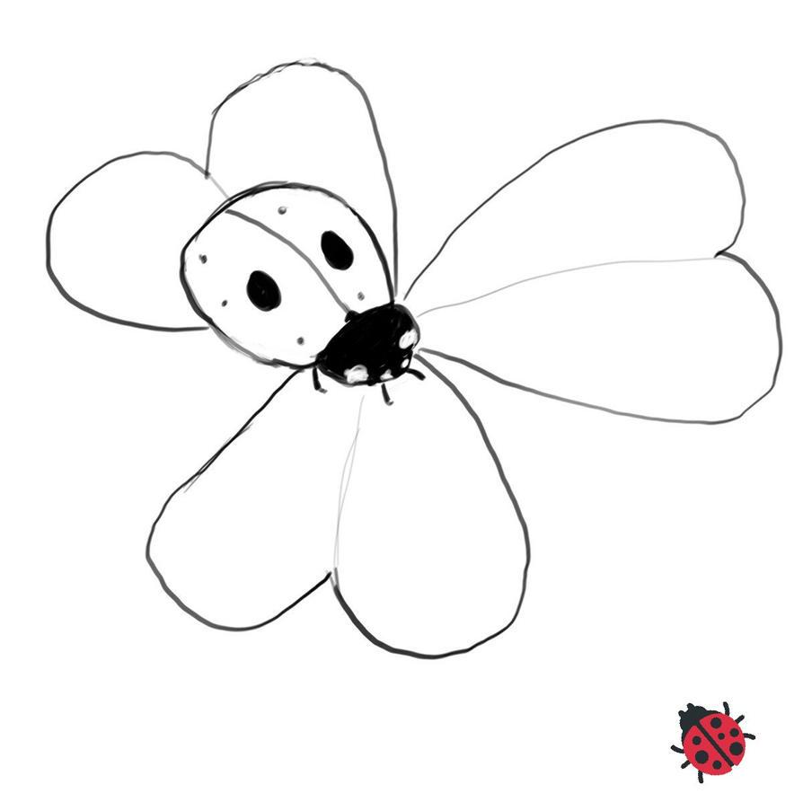 Day 7 of 30: ladybug by enchanteddroppings