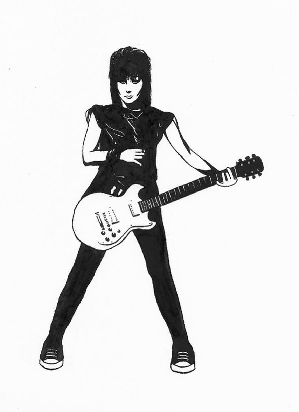 Image result for Joan Jett clipart