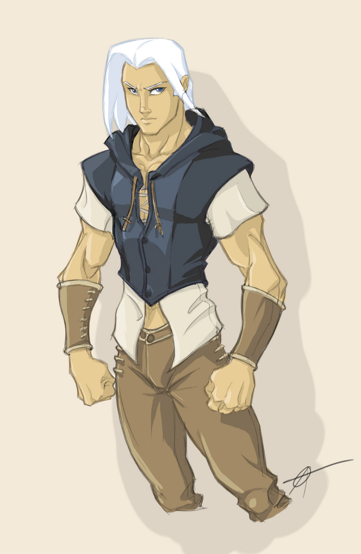 Character Ideation - Young Assassin by revoincubus