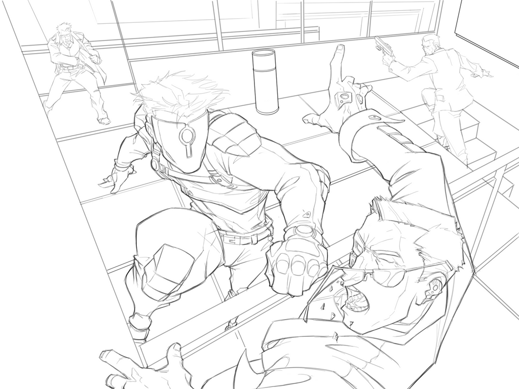 WIP - TKO Lineart complete by revoincubus