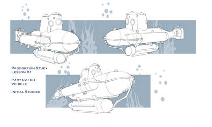 Quick Vehicle study by revoincubus