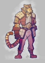 Pirate Tiger - more iPad sketch fun
