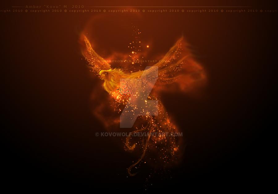 Rising Phoenix by KovoWolf