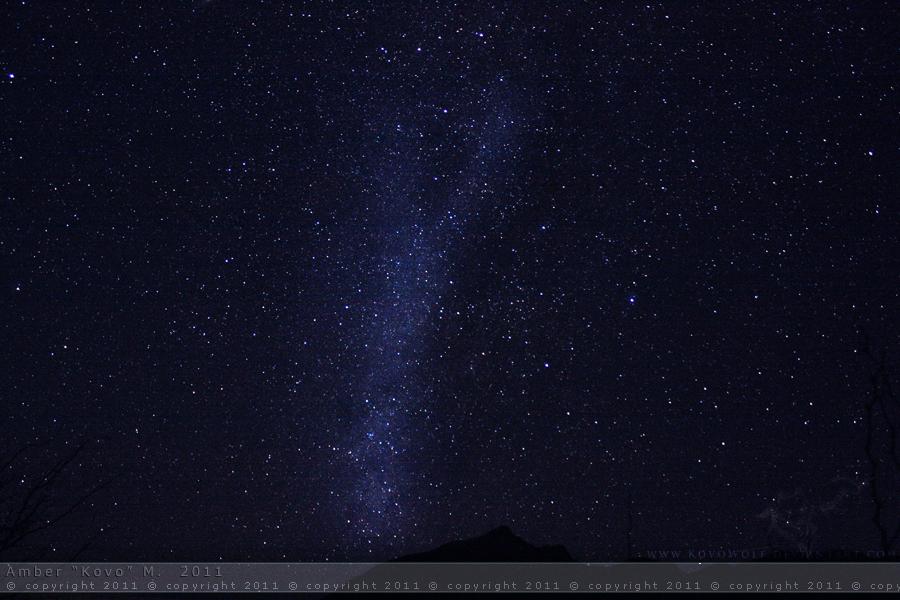 Cascading Milky Way by KovoWolf