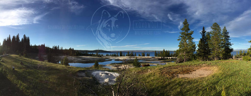 Yellowstonelakewm by KovoWolf