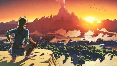 Legend of Zelda BOTW Fan Art by JaxTendo