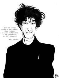 Neil Gaiman by R0b0C