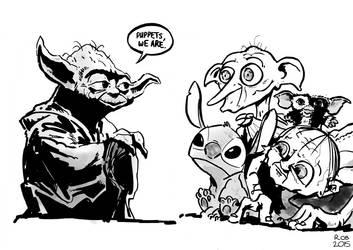 Yoda by R0b0C