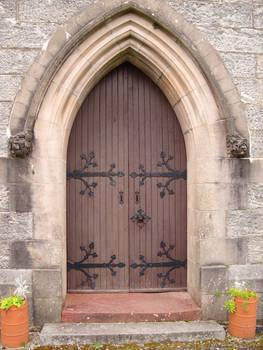 Stock Church Door