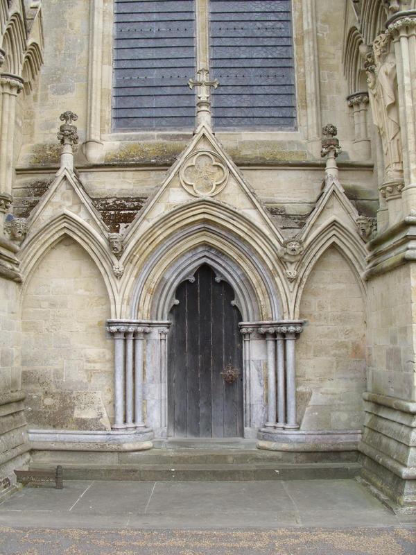 Salisbury Cathedral Door by angel1592Stock ... & Salisbury Cathedral Door by angel1592Stock on DeviantArt