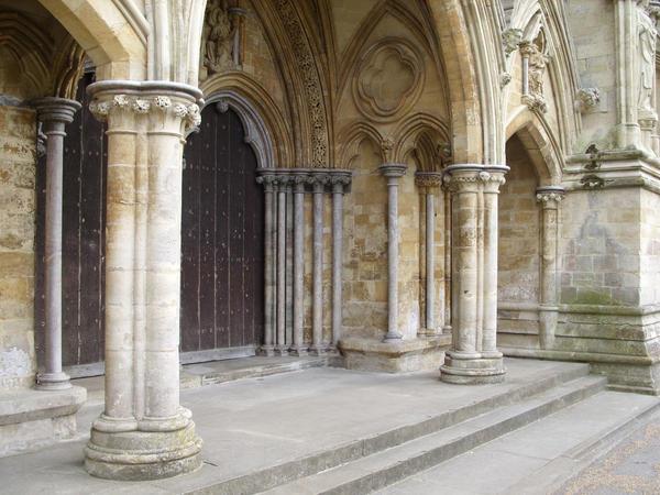 Salisbury Cathedral Door 4 by angel1592Stock