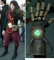 Asami's Equalist Glove by platypusdistro