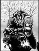 werewolf by KevinLJones