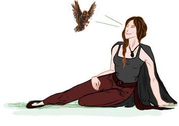 raven commish by avitalspark