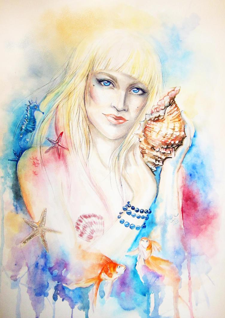 Mermaid by Gotat