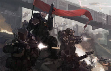 Tin Soldiers: Last Stand by Kwibl