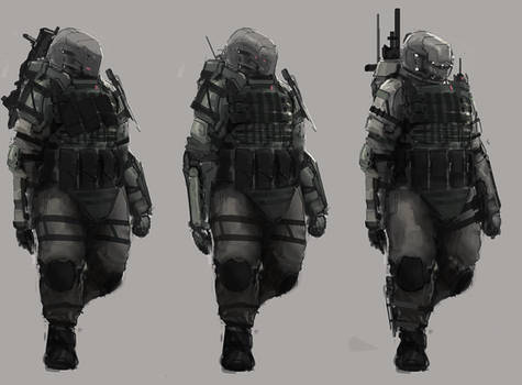 Tin Soldiers: sketches