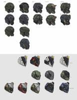 Blitzjaeger helmets by Kwibl