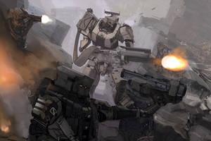 Shattered Void: Mechanised Assault