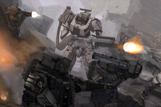Shattered Void: Mechanised Assault