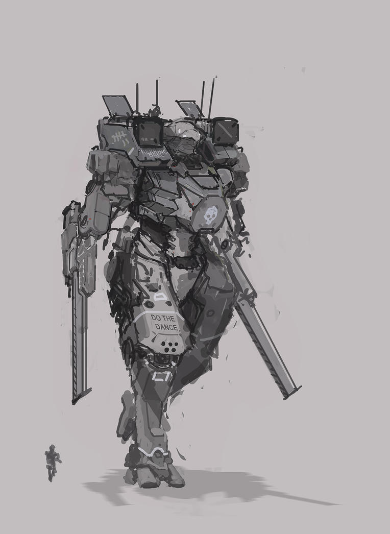 Tin Soldiers mech by Kwibl