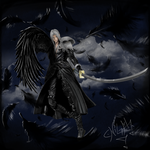 Sephiroth with wing
