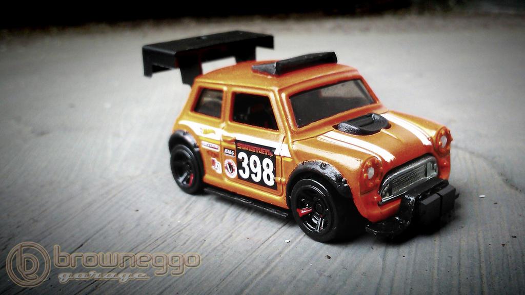Hot Wheels Custommorris Minimini Cooperspeedhun By Browneggo On