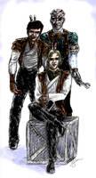 Kotor II Sketch by silentmagician2001
