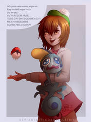 Scottish Trainer | Pokemon Gen 8 by XoXoBellatrix