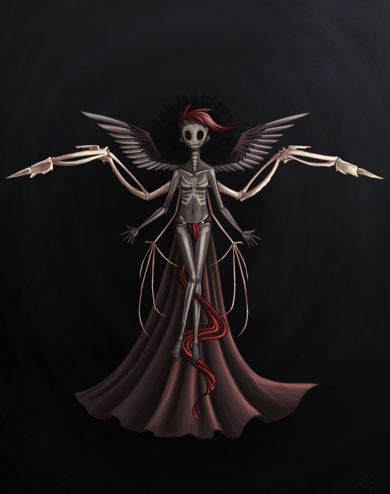 Angel Of Death By Ninoru On DeviantArt